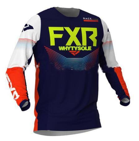 Long Sleeve Downhill Jersey Motocross Cycling Jerseys Moto GP FXR 4