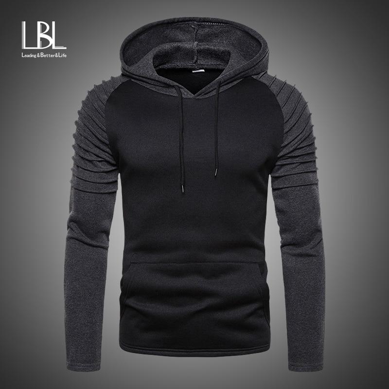 Men Hoodies Trend 2019 New Quality Male Hoodies Men's Cotton Sweatshirt Hoodies High Street Style Brand Top Pullover Tracksuits