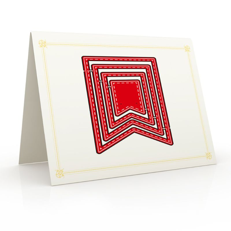 Banner Craft Die Metal Cutting Dies Cut for DIY Paper Card Making Scrapbooking