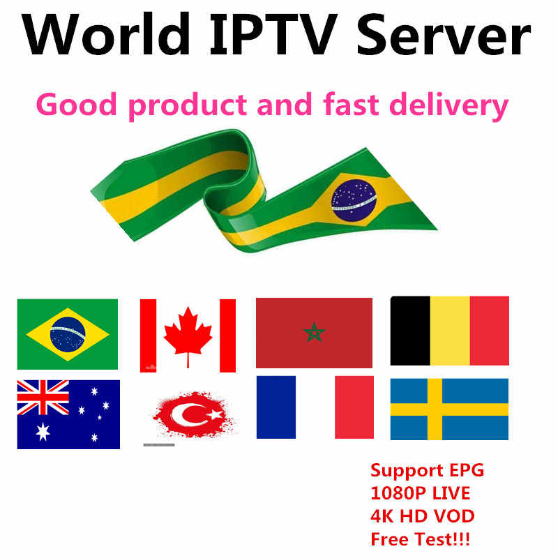 King IPTV M3u Subscription Iptv Italy UK German French Spanish Poland Mediaset Premium For Android Box Enigma2 Smart TV