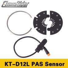 Camrider PAS Педальный датчик KT D12L Julet водонепроницаемый разъем 12 магнитов датчик s сигналы