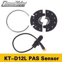 Chamrider PAS Pedal Assist Sensor KT D12L Julet conector À Prova D' Água 12 Ímãs Sinais de Sensores|Acessórios para bicicleta elétrica| |  -