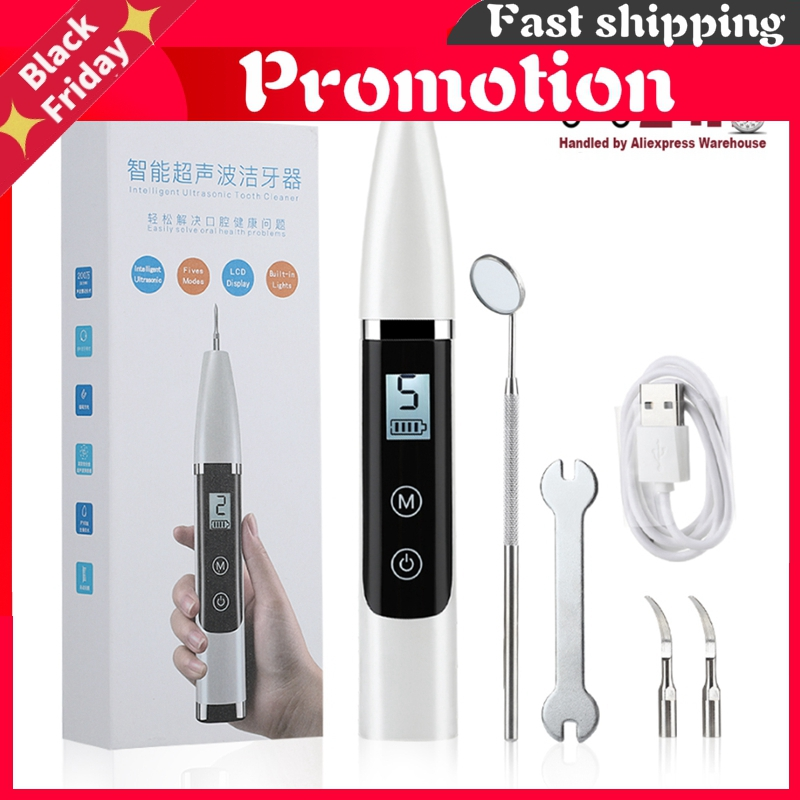 Electric Ultrasonic Dental Whitener Scaler Oral Irrigator Tooth Cleaner Tartar Stains Remover Teeth Whitening Oral Hygiene Tools