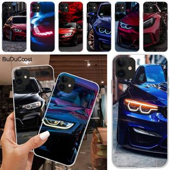 Jomy Blue Red Car for Bmw Phone Case Cover For iphone 5C 5 6 6s plus 7 8 SE 7 8 plus X XR XS MAX 11 Pro Max image