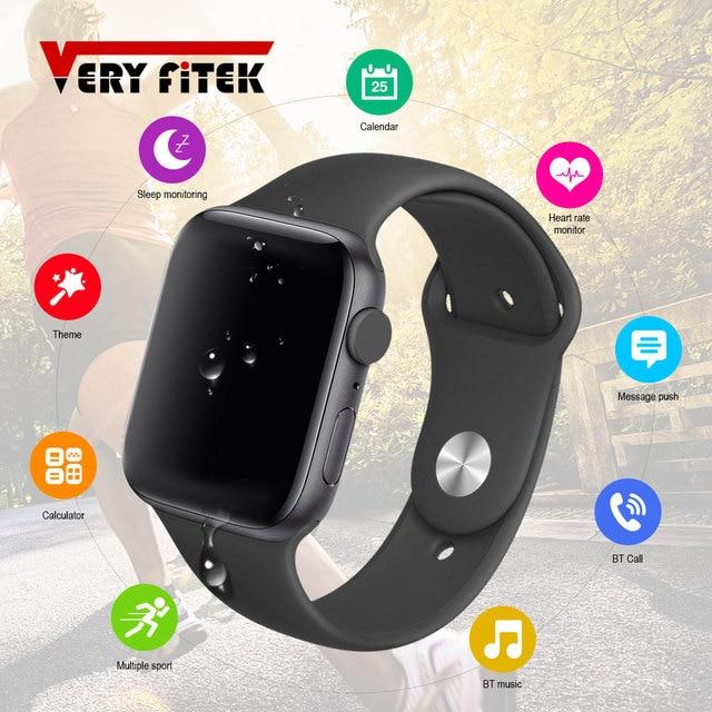 $ US $33.65 2020 IWO PRO Smart Watch Bluetooth Call 44MM IP67 Heart Rate Monitor Watch Men Women Dial Answer Call Smartwatch PK IWO 12