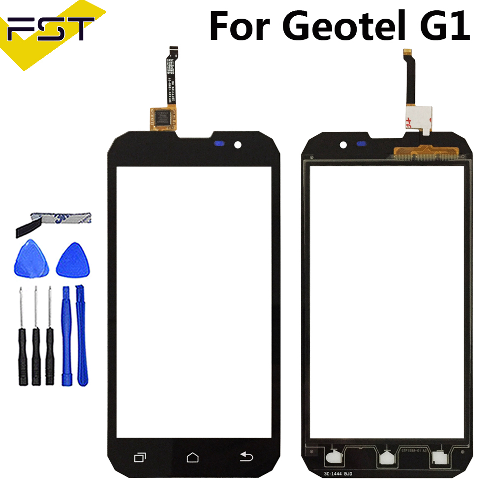 5.0 '' Touch Screen Digitizer For Geotel G1 Front Glass Lens Mobile Phone Touch Panel Sensor Tools+Tape Touchscreen