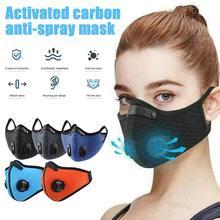 Respirator Face-Masks Mouth-Muffle PM2.5 Washable Women Unisex Dustproof Anti-Haze-Valve