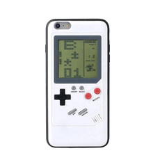 Retro Game Phone Case for Xiaomi Mi 6 Tetris GB Handheld Game Player Console Cover Portable Controller for Boy Chirstmas Gift(China)