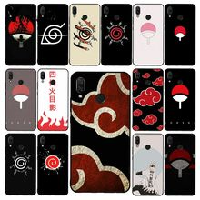 Yinuoda Naruto Shippuden Uchiha Itachi Clan Phone Case for