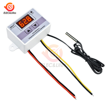 XH-W3001 W3001 220V Digital Thermostat Temperature Controller Switch Probe 10A Relay Thermoregulator for incubator