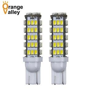 2Pcs Super Bright T10 68LED 1206 68 SMD LED Car 42smd 68smd 3020 W5W 194 927 168 Side Wedge Lamp Marker Bulb lights(China)