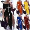 Bodycon Dress Short Sleeve Maxi Dresses for Women Off Shoulder Spring Summer Plus Size Casual Long Boho Dress Vestido Feminino 1