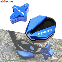 Motorcycle CNC For YAMAHA NMAX155 NMAX125 NMAX 155 125 2020-2021 Side Stand Enlarge & Support Kickstand Column auxiliary