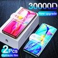 2 шт Гидрогелевая Защитная пленка для экрана для Huawei P30 P40 P20 Lite Pro P30 Lite Защитная пленка для экрана на Honor 10 20 9 V9 P Smart 2019 Z