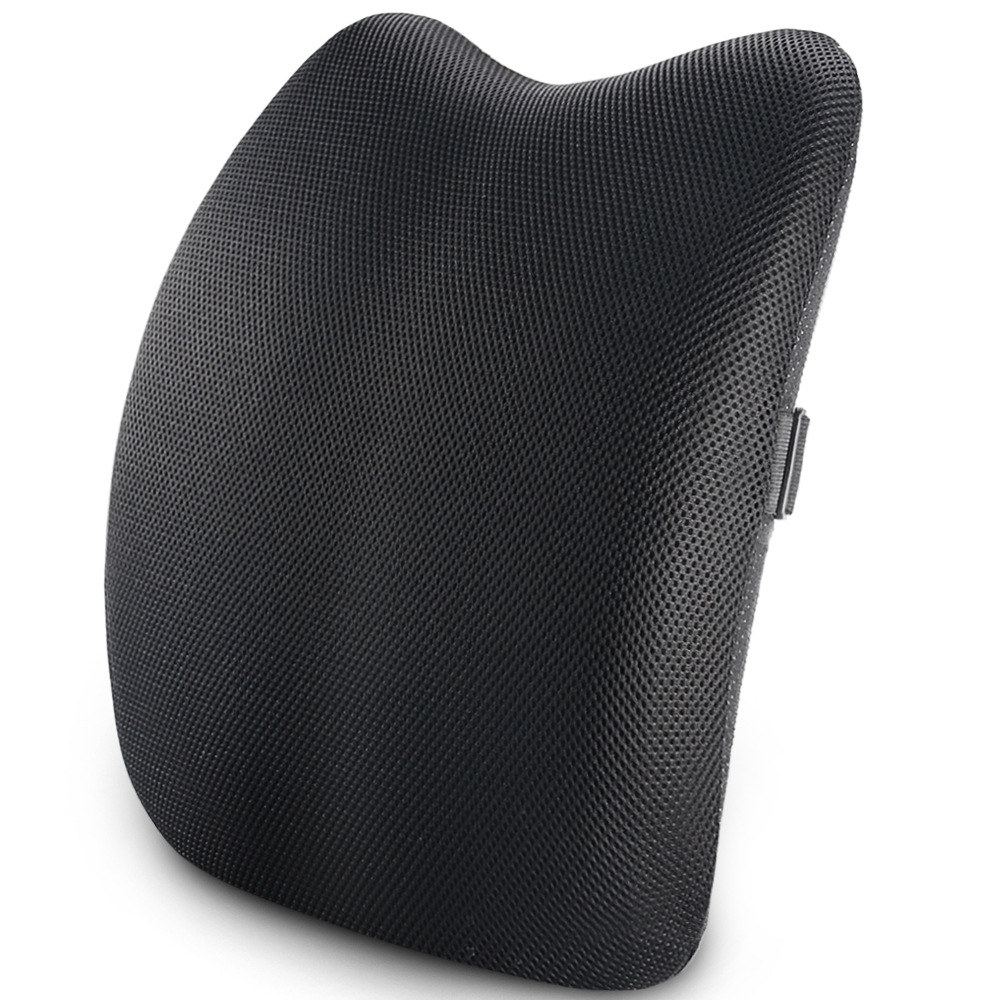 Lumbar Support Back CushionBack Pillow for Office Chair and Car SeatErgonomic Pillow Memory Foam Orthopedic Backrest for Couch