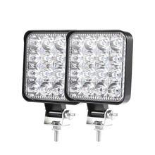Светодиодный прожектор фонасветильник дневного света 48 Вт светодиодный