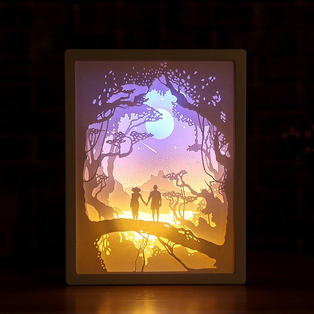 Luci Fai Da Te 3d di carta lampada scultura più stili combinato luce ombra
