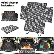 Car Pet Seat Cover Pet-carriers Fabric Paw pattern for Dog Cat Car-Back-Seat Carrier Waterproof Pet Mat Hammock Cushion Pet-Pad pet carriers fabric paw pattern car pet seat cover dog car back seat carrier waterproof pet mat hammock cushion protector