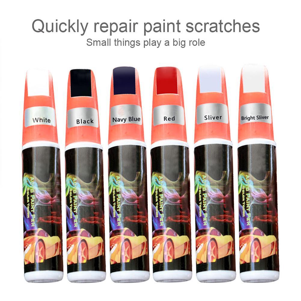 Ручка для ремонта царапин, антикоррозийная Антикоррозийная краска, красная, черная, белая, серебристая, серая ручка для ремонта краски