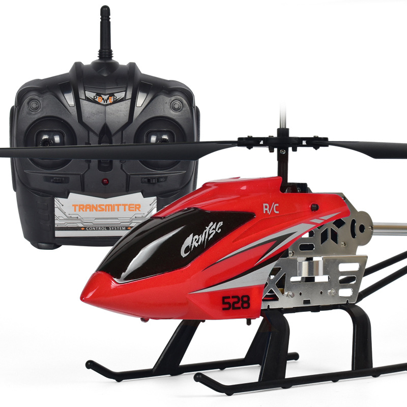 Toy Ultra Large Remote Control Charging Airplane Drop-resistant Helicopter Model Airplane-Shaped Aircraft CHILDREN'S Toy Chargin