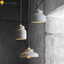 Nordic Art LED Pendant Lights Modern Creative Personality Bedside Lamp Bar Cafe Kitchenhanging Lamps Light Fixtures