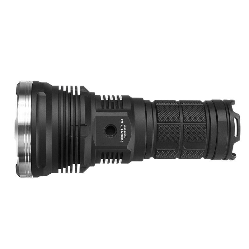 Astrmienne MF02 lampe de poche LED 18650 XHP35 HI 3000LM CW longue portée SMO lampes de poche LED 1587M lampe de poche LED Mini torche - 3