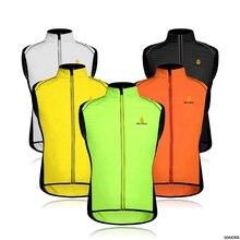 WOSAWE Cycling Vest Men Waistcoat Reflective Clothing Windcoat Breathable Bike Jacket Bicycle Cycle Sleeveless Jerseys 5 COLORS california men s bike cycling jerseys sportswear breathable cycling clothing bike bicycle jerseys breathable mtb clothing
