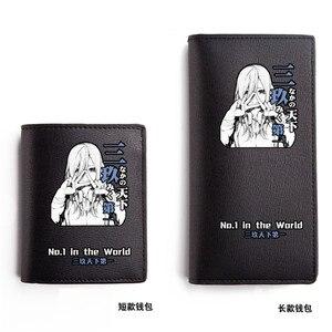 Женский кошелек, из искусственной кожи, с отделением для карт