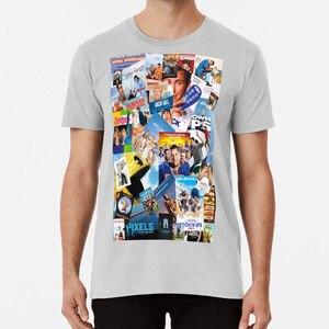 Adam Sandler Collage футболка Adam Sandler Paul Blart Meme Dank