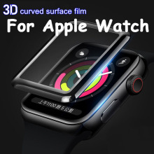 Screen-Protector Apple Watch Cover Soft-Case Full-Protective-Film Iwatch-Series 44MM