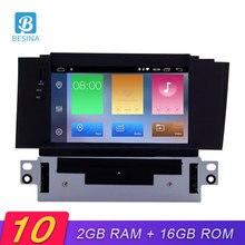 Besina Android 10,0 reproductor de DVD del coche para Citroen C4 C4L DS4 2011-2016 navegación GPS Multimedia estéreo 1 Din coche Radio Video WIFI