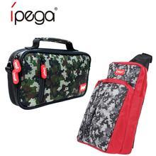IPega PG 9185/9183 게임 콘솔 스토리지 가방 핸드백 케이스 크로스 숄더 가방 닌텐도 스위치 라이트 콘솔 게임 액세서리에 적합