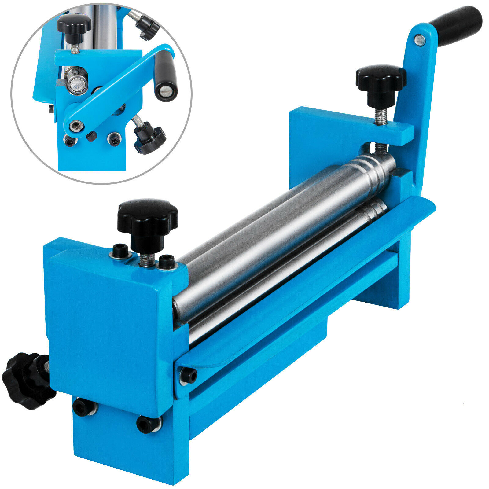 NEW STYLE SJ300 Slip Roll Machine 320mm Manual Solid Sheet Metal Bender 20 Gauge Capacity With Free Shipping
