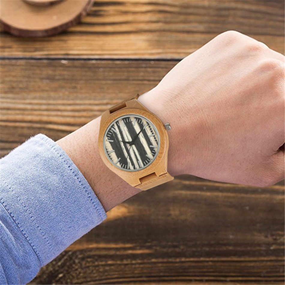 ساعات كوارتز من الخشب الطبيعي للرجال ، عروض خاصة ، ساعة يد من الجلد الطبيعي ، عصرية ، هدايا