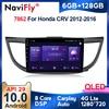 6G + 128G QLED 4G LTE CarPlay Android 10 Für Honda CRV CR-V 4 RM RE 2011 2012 - 2018 auto Radio Multimedia Player GPS Keine 2 din dvd