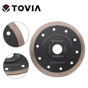 Image 3 - TOVIA 115mm/125mm Diamond Circular Saw Blades Cutting Granite Stone Porcelain Ceramic Tile Saw Disc Thin Saw Blades