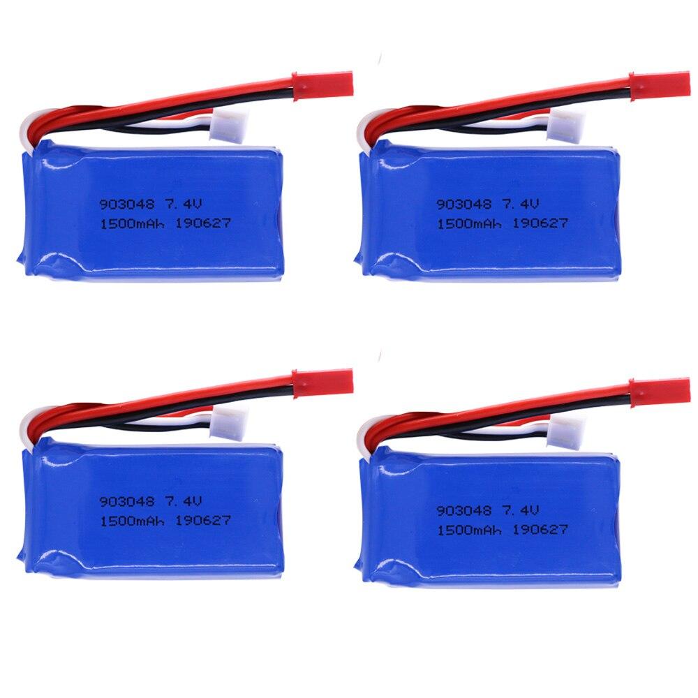Batttery For Wltoys A949 A959 A969 A979 K929 1/18 Rc Car LiPo Battery 7.4V 1500mah A949 27 Part For Wltoys RC Car Part 1-10pcs