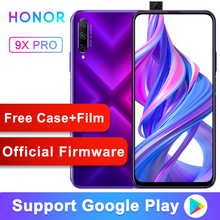 Honor 9X Pro Smart Phone Kirin 810 Octa Core 6.59 inch Lifting Full Screen 48MP