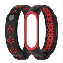 Спортивные силиконовые часы с ремешком duoteng mi band 3 4 аксессуары