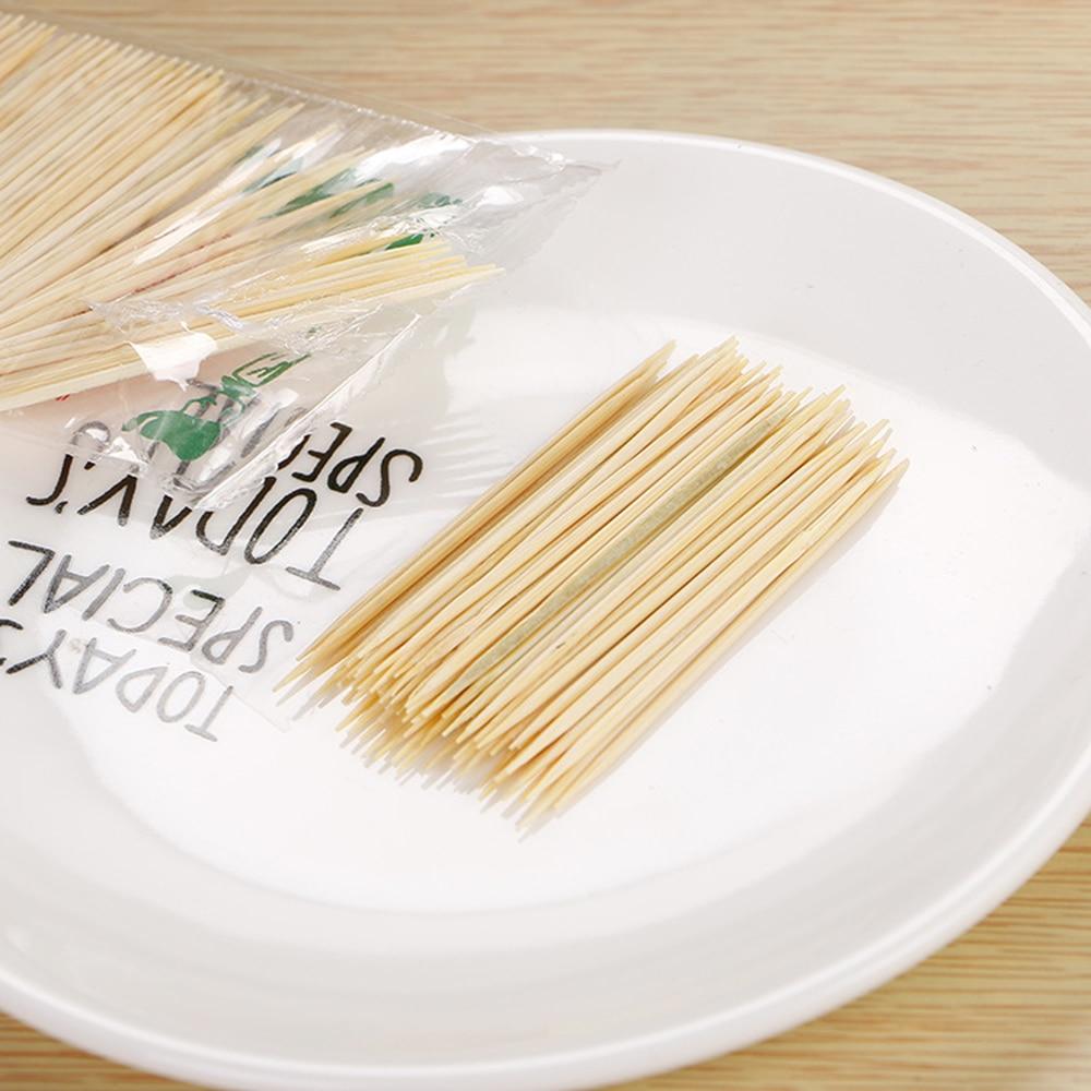 4 sacos descartaveis palitos de bambu natural 04