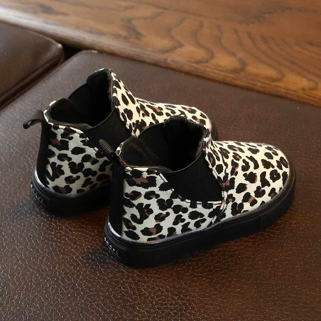 Heiße Mode Stiefel Kinder Kinder Baby Mädchen Jungen Leopard Winter Warme Kurze Stiefel Casual Schuhe kinder Schuhe Drop Verschiffen