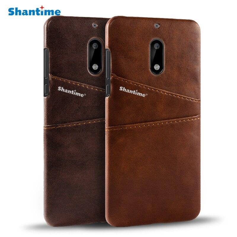 For Nokia 3.1 5.1 5.1 Plus Leather Case For Nokia 6 Nokia 5 Back Cover Business Case For Nokia 6.1 6.1 Plus Phone Case
