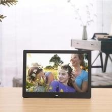цена на SJD-1203 12 inch LEDs Digital Photo Frame 1280x800 H-D Screen Desktop Album Display Image MP4 Video MP3 Audio Clock Calendar wit