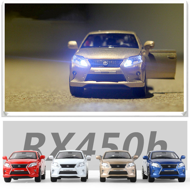 1:32  Lexus Rx450 Alloy Diecast Car Model Pull Back Toy Car Children Toy Collectibles Free Shipping