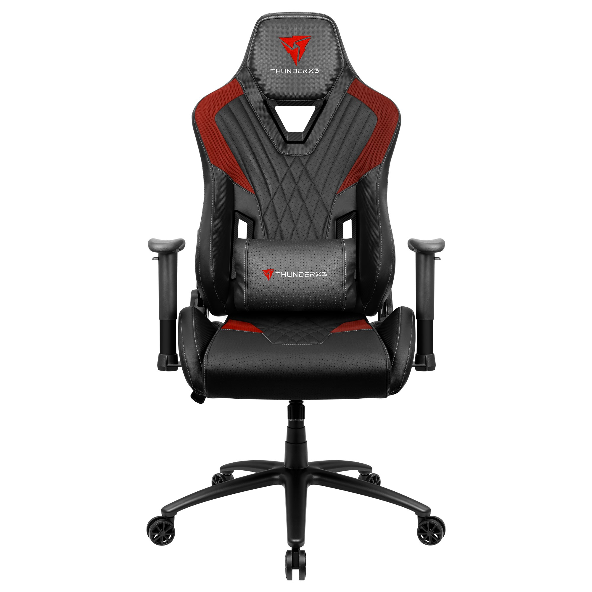 ThunderX3 DC3, Gaming Chair, Technology AIR, Breathable And Adjustable, Red