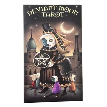 High Quality Tarot Cards For Deviant Moon Board Deck Games Palying Cards For Party Game
