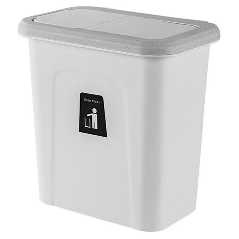 Küche Push Abdeckung Mülleimer Hängen Obst Und Gemüse Haut Küche Müll Lagerung Eimer Einfache Lagerung Box-in Abfallbehälter aus Heim und Garten bei title=