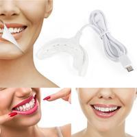 Dispositivo para blanquear los dientes, dispositivo portátil de alta calidad, gran oferta, luces azules, 4 USB, 16 LED, para nuevo para el hogar
