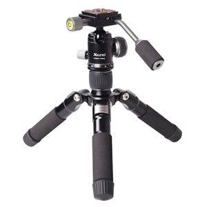 Image 2 - Xiletu mini tripé de alumínio FM5C MINI, suporte leve para tablet, câmera digital slr e desktop