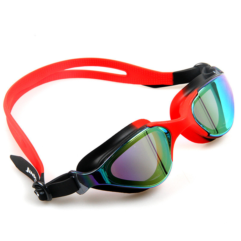 Profession Racing Swimming Goggles Men And Women Universal Style High-definition Waterproof Anti-fog Casual Large Frame Athletes